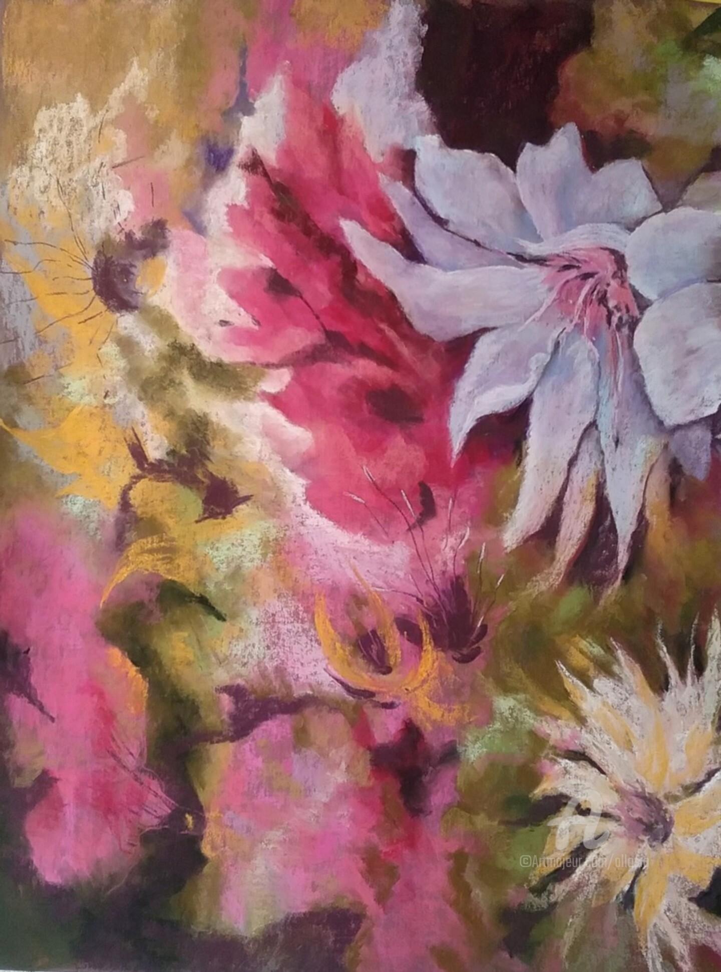 Claudette Allosio - floral printanier