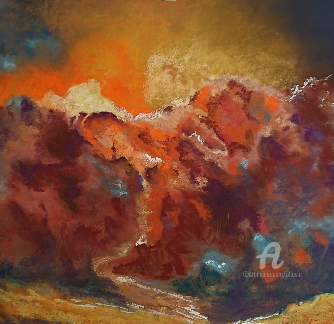 Claudette Allosio - Turbulence flamboyante