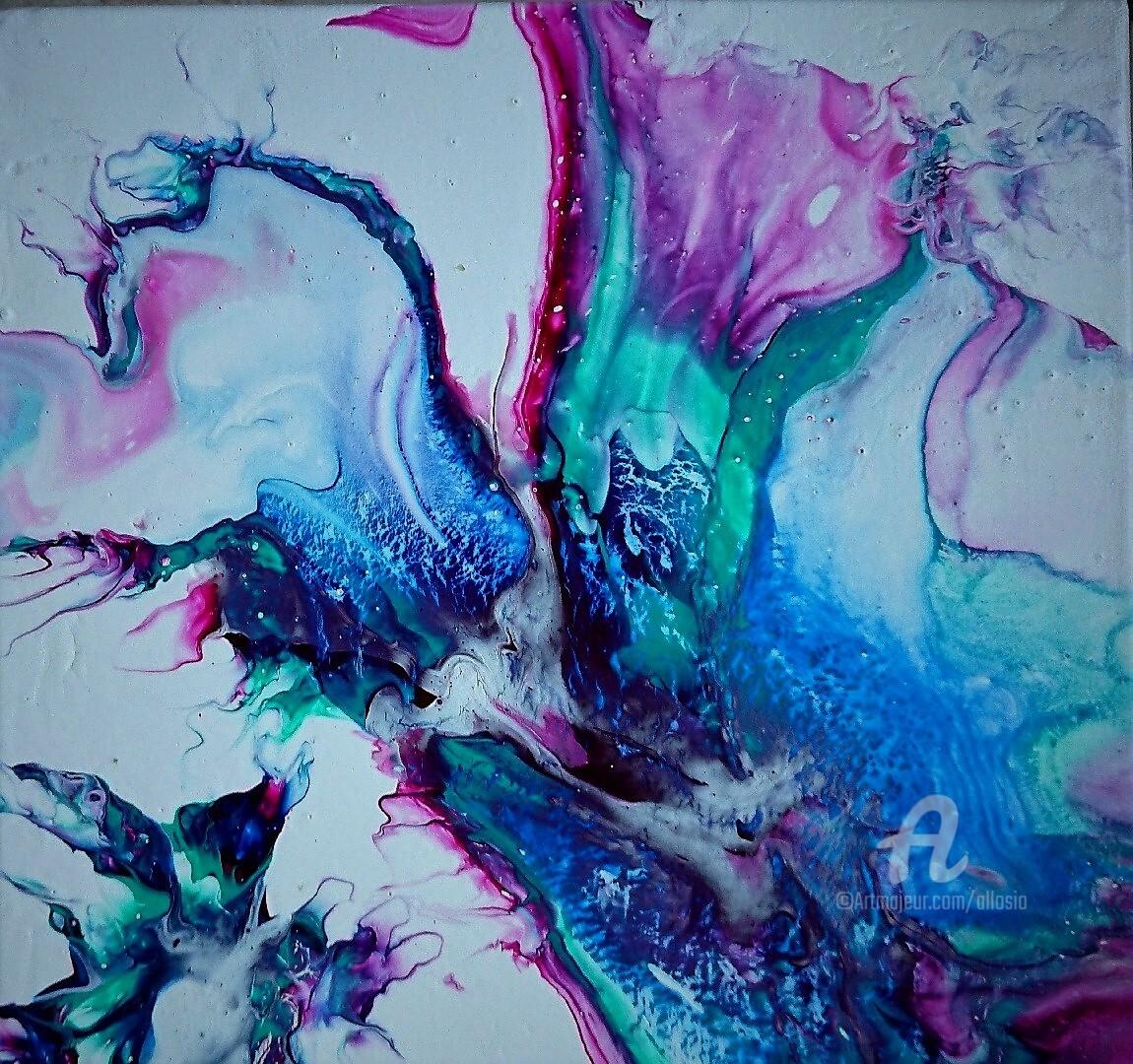 Claudette Allosio - mélodie turquoise