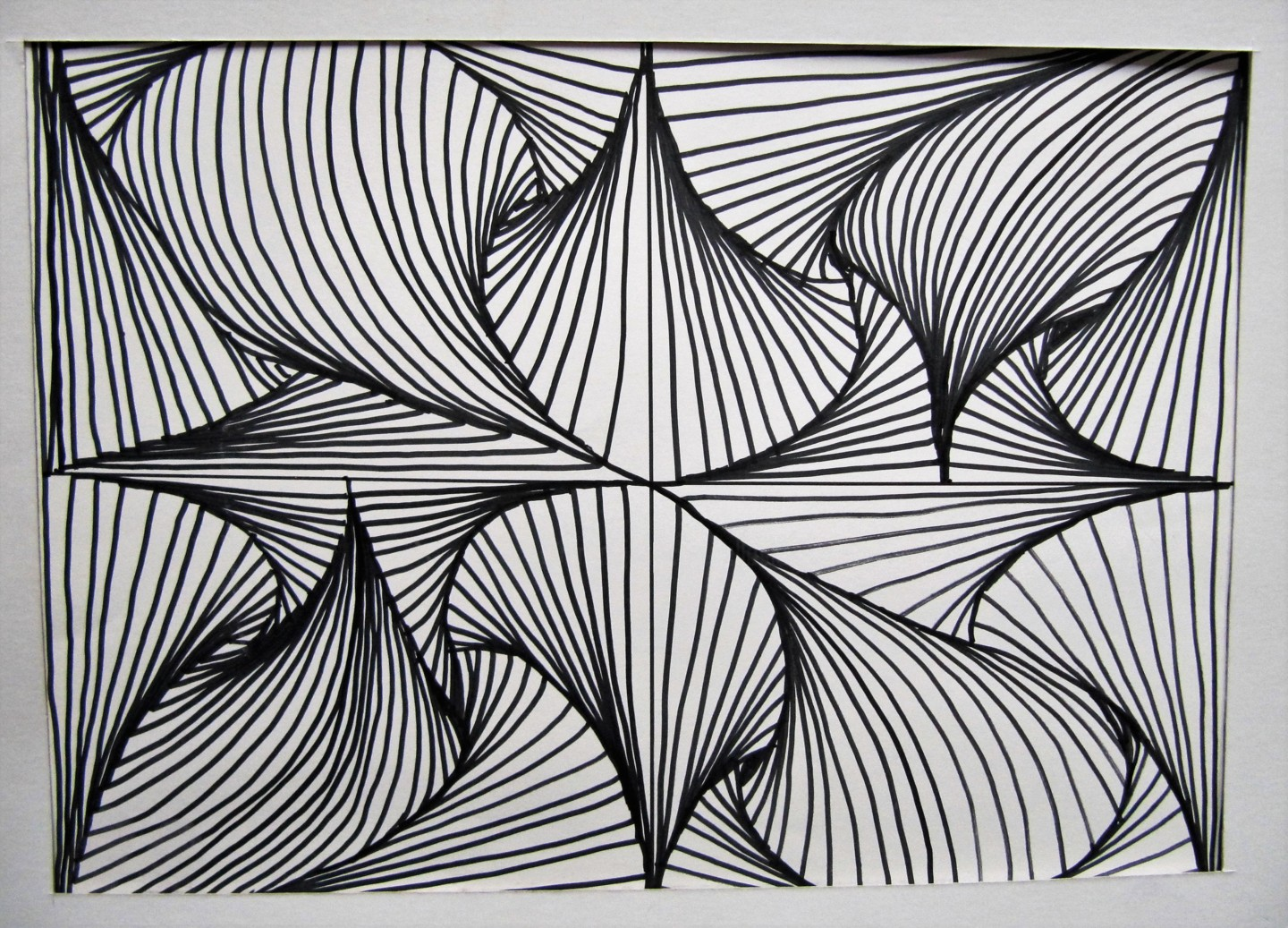 Claudette Allosio - C14 ink drawing