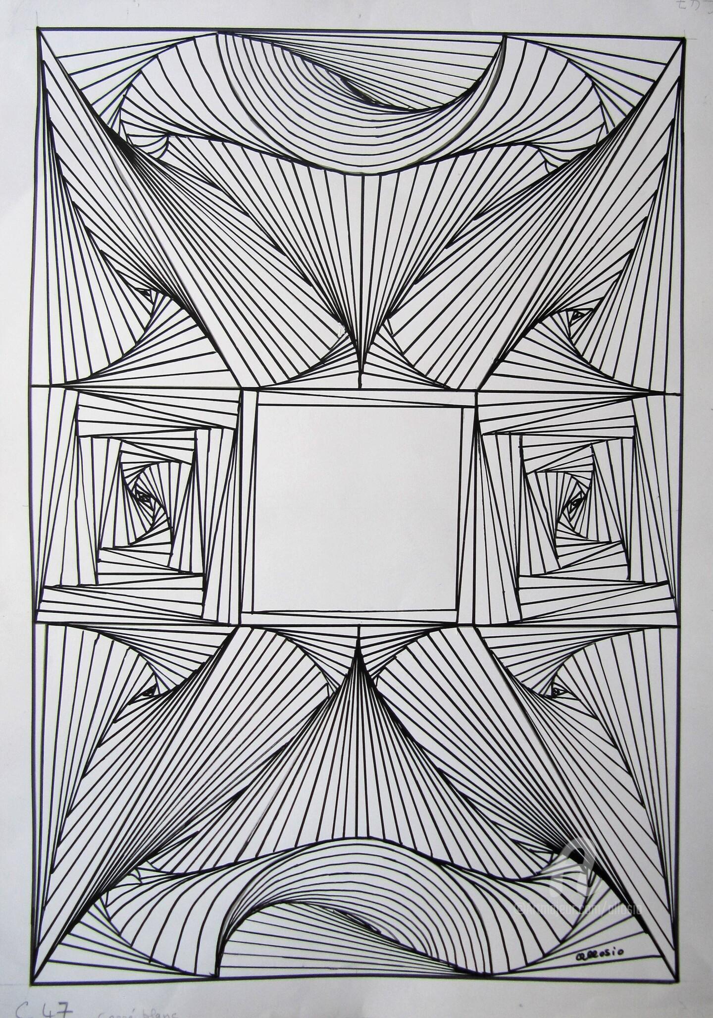 Claudette Allosio - C47_ le carré