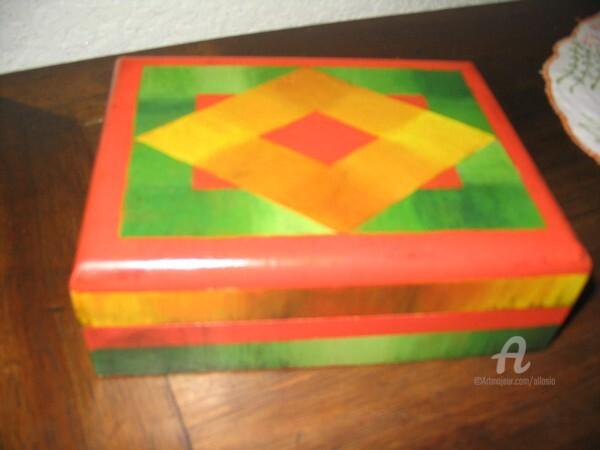 Claudette Allosio - boite à jeux de cartes