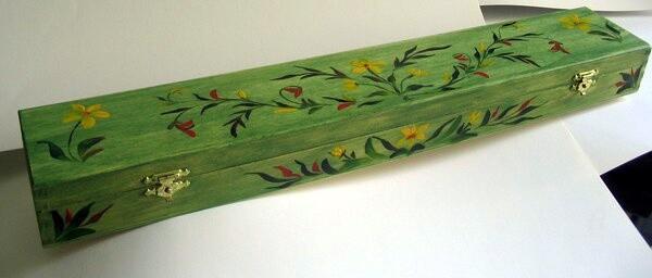 Claudette Allosio - boite à pinceaux