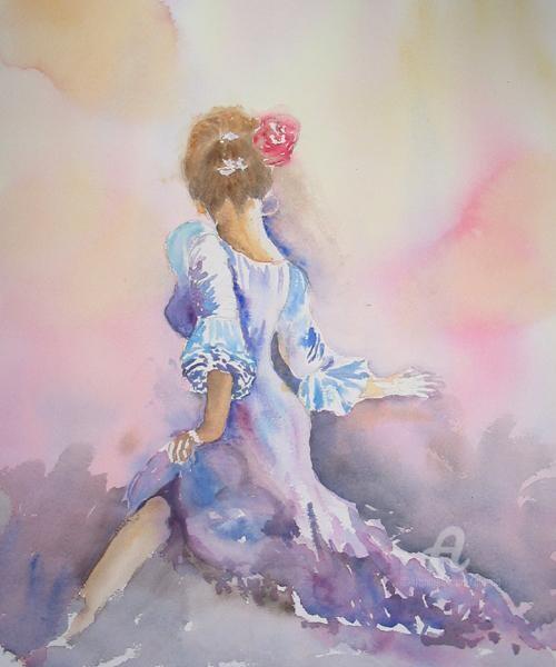Claudette Allosio - la belle sevillanne