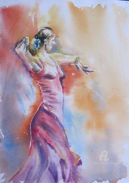 Claudette Allosio - la danseuse