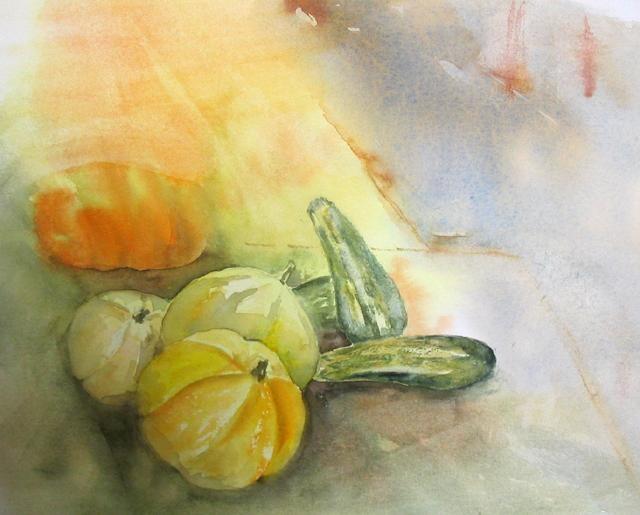 Claudette Allosio - legumes en hiver