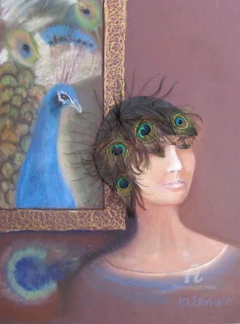 Claudette Allosio - la femme aux ocelles