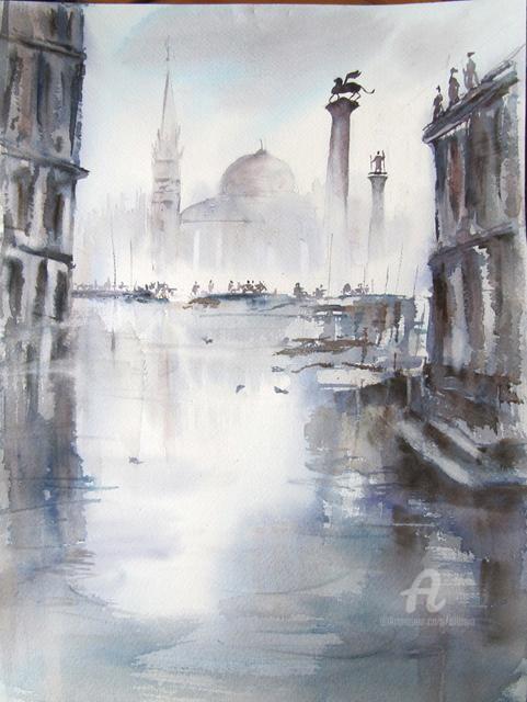Claudette Allosio - Venise un jour gris