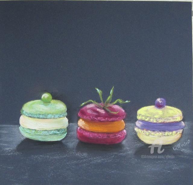 Claudette Allosio - macarons ... tentation