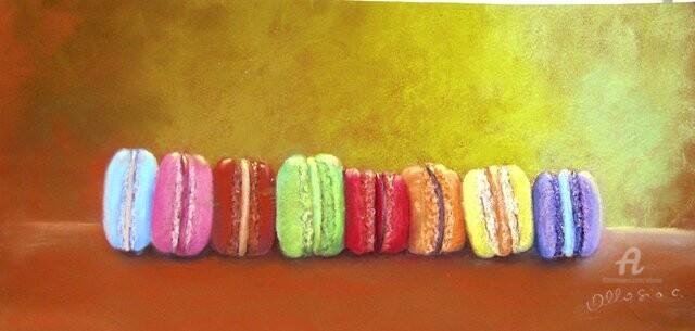 Claudette Allosio - farandole de macarons