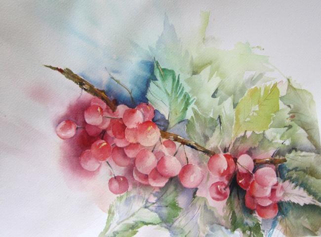 Claudette Allosio - branche de griottes
