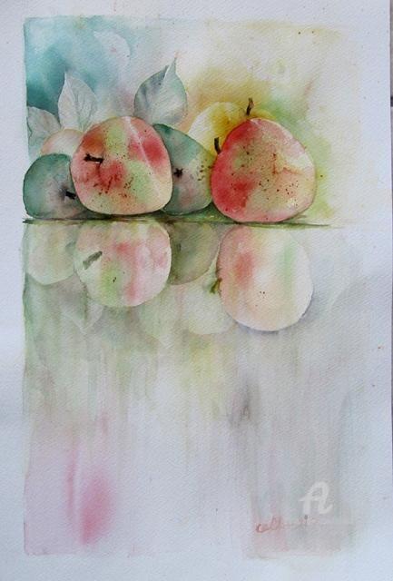 Claudette Allosio - Reflets de pommes