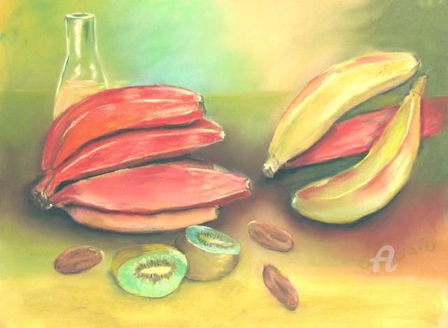 Claudette Allosio - fruits exotiques#artistsupportpledge