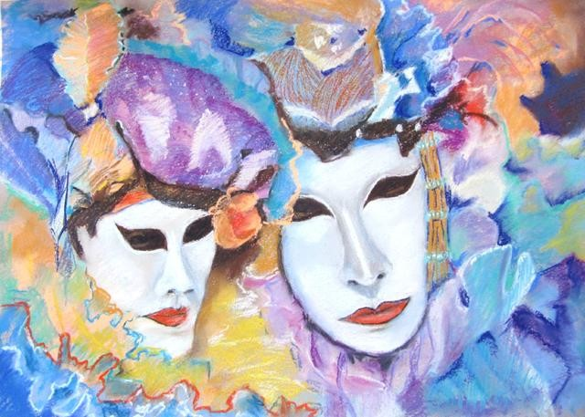 Claudette Allosio - un air de carnaval2