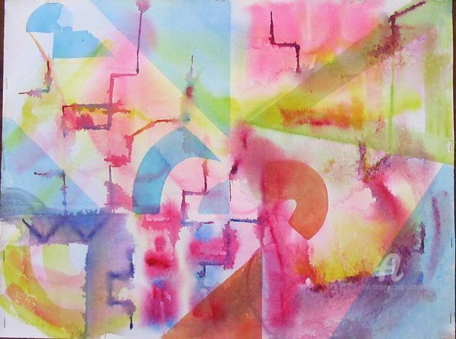 Claudette Allosio - abstrait3