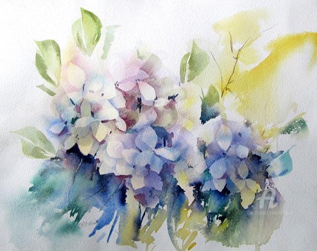 Claudette Allosio - hortensias
