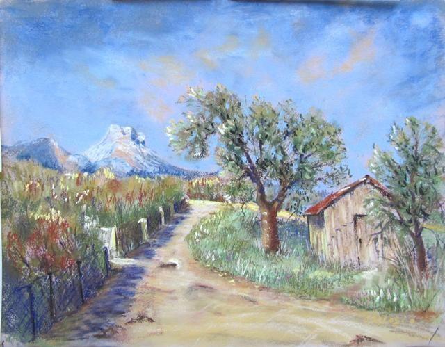 Claudette Allosio - Chemin des voûtes
