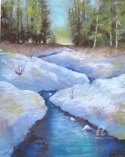 Claudette Allosio - ambiance hivernale