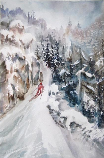 Claudette Allosio - Ballade dans le Vercors