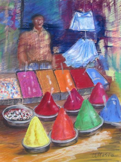 Claudette Allosio - vendeur de pigments