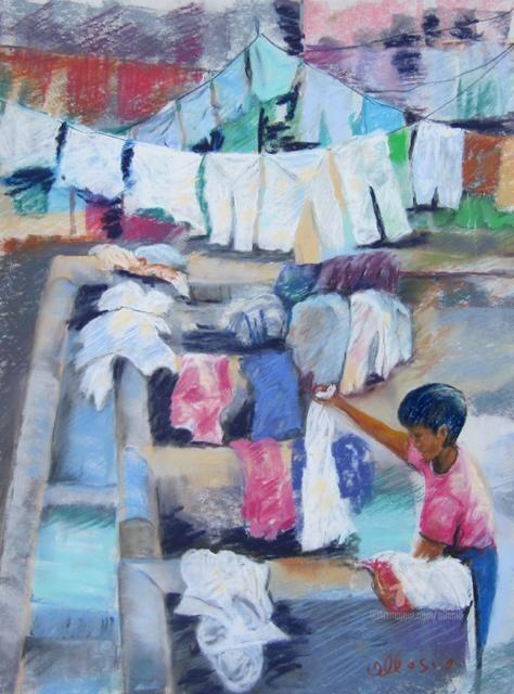 Claudette Allosio - Petit lavandier sri lankai