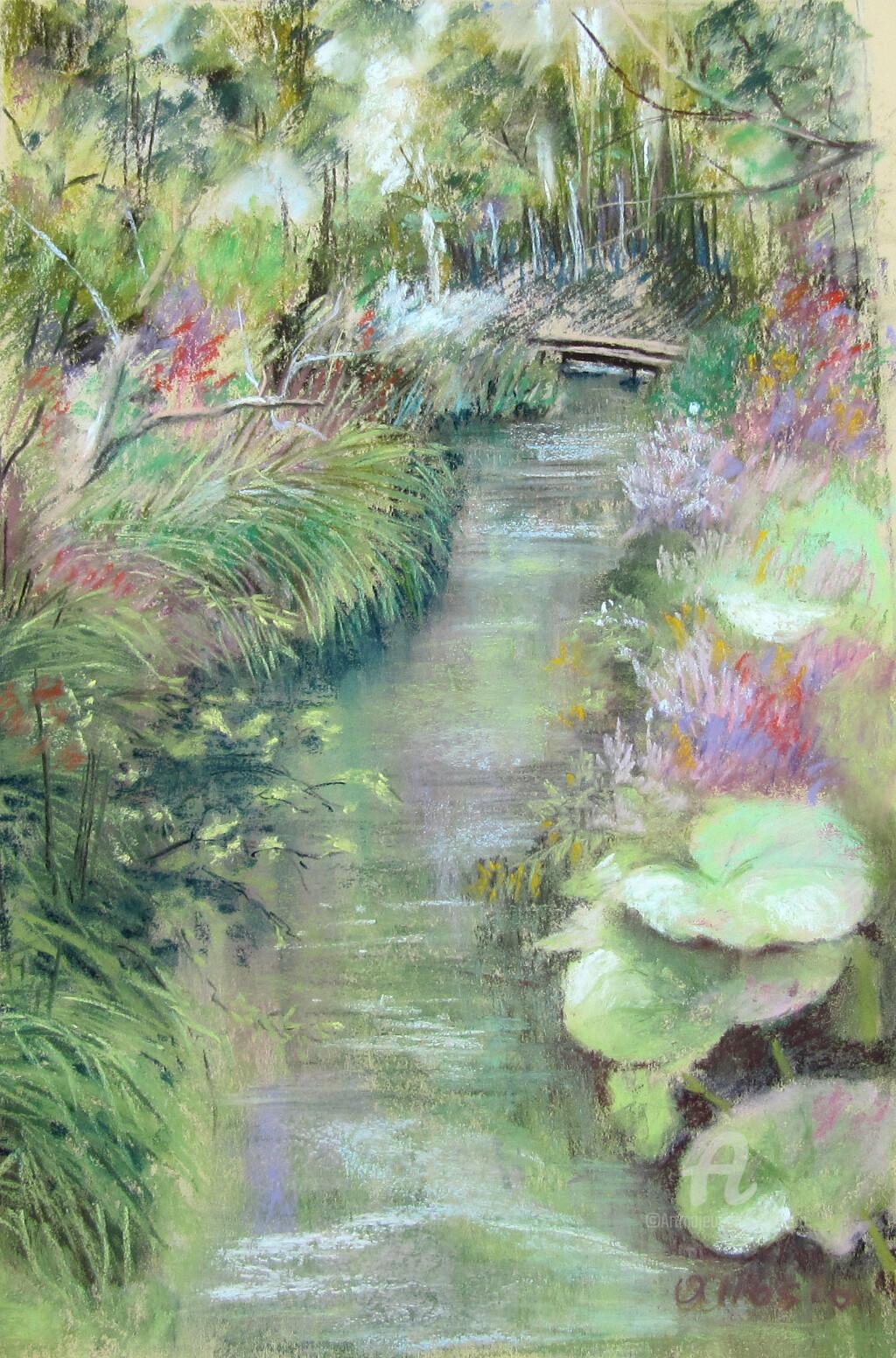 Claudette Allosio - Chez Monet