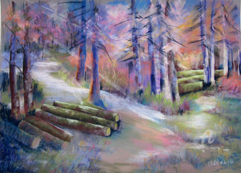 Claudette Allosio - Ces arbres qui cachaient la forêt