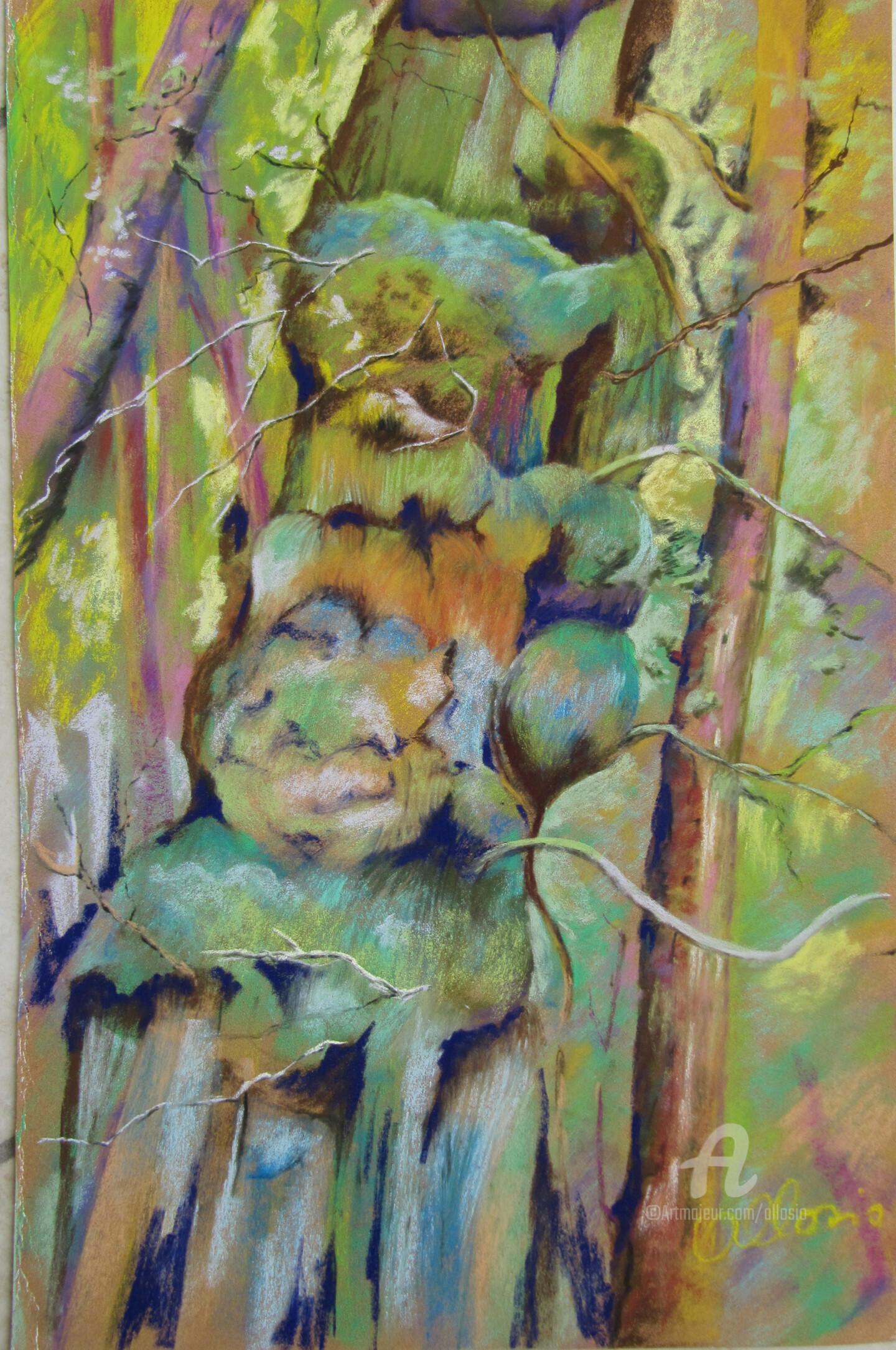 Claudette Allosio - Totem végétal
