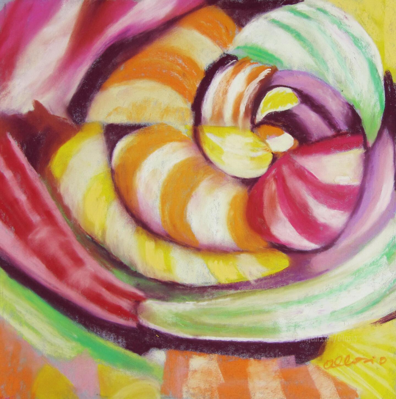 Claudette Allosio - sweet spiral#artistsupportpledge