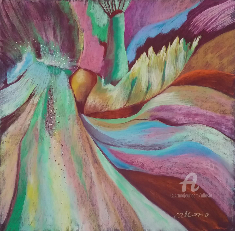 Claudette Allosio - Au coeur d'un iris