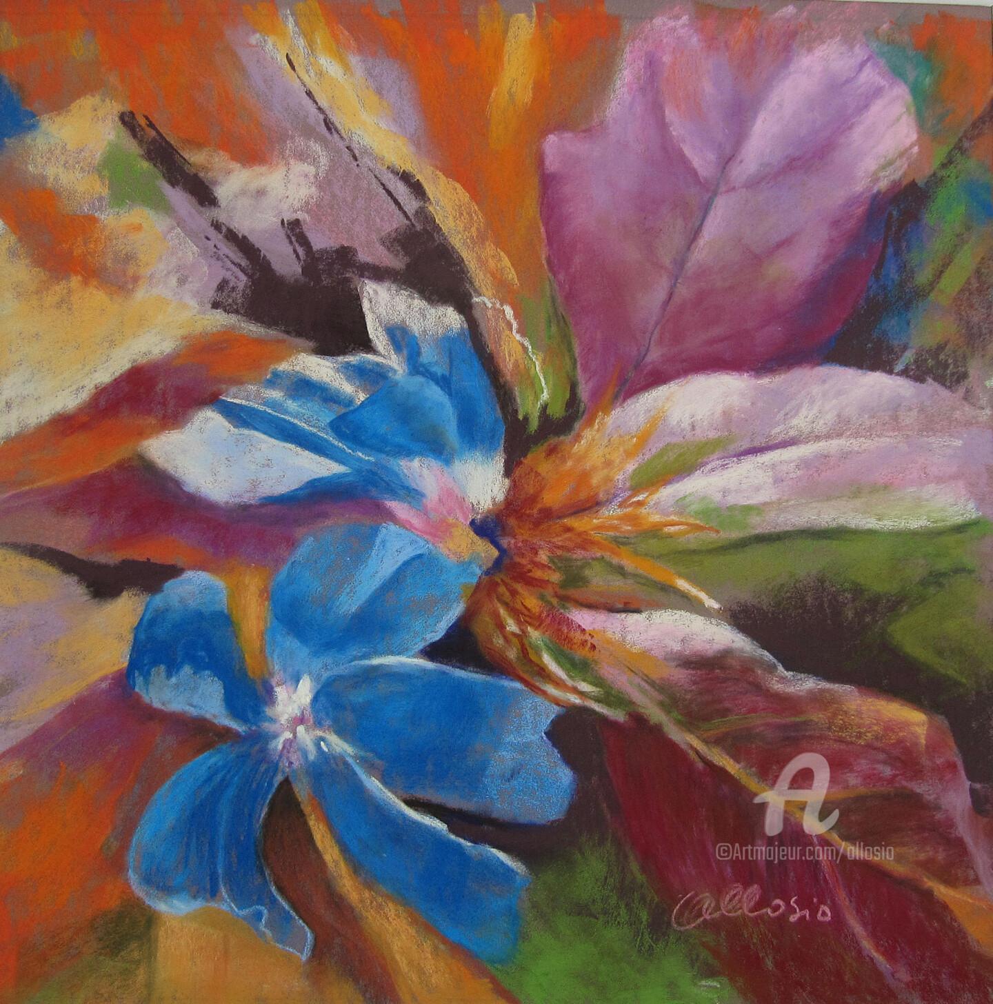 Claudette Allosio - Un air de  plumbago