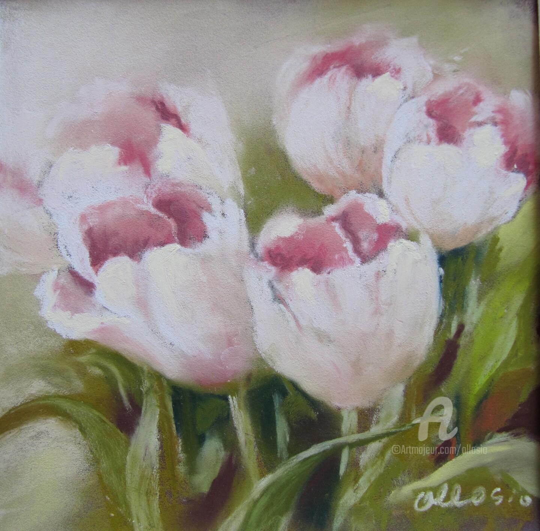 Claudette Allosio - tulipes-festonnees