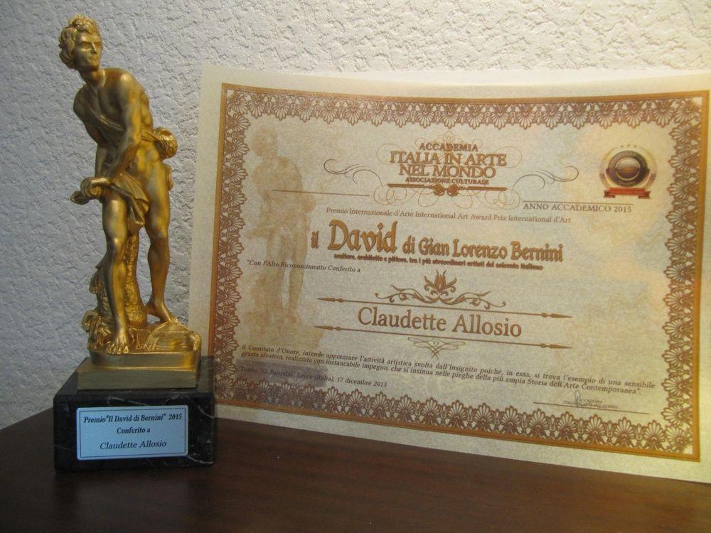 """Prix """"Il David di Bernini"""" 2015"""