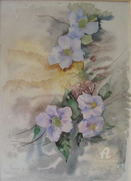 Claudette Allosio - Fleurs de poivrier