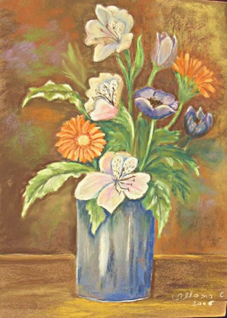 Claudette Allosio - le bouquet d'Albane