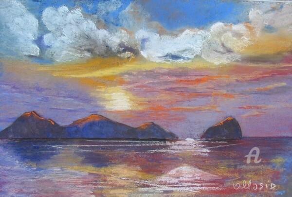 Claudette Allosio - coucher de soleil exotique3