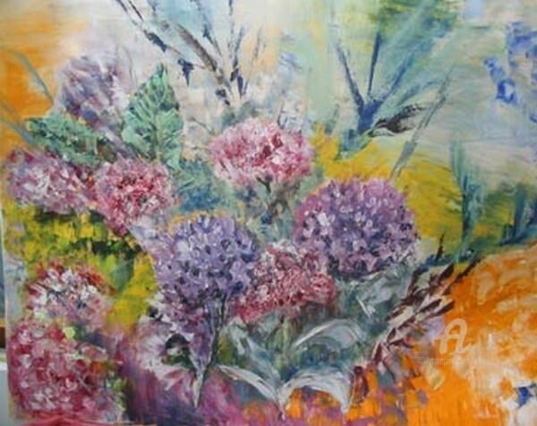 Claudette Allosio - les hortensias