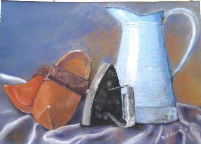 Claudette Allosio - objets du grenier