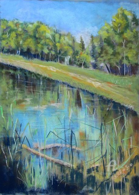 Claudette Allosio - Le lac Noir