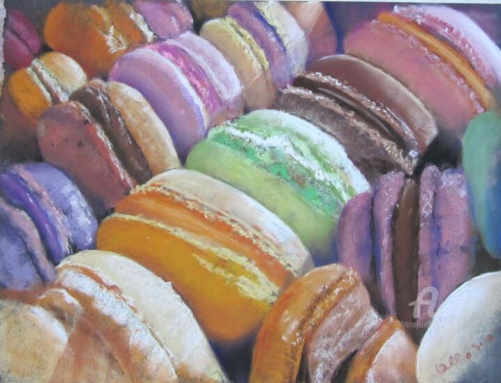 Claudette Allosio - macarons en boite