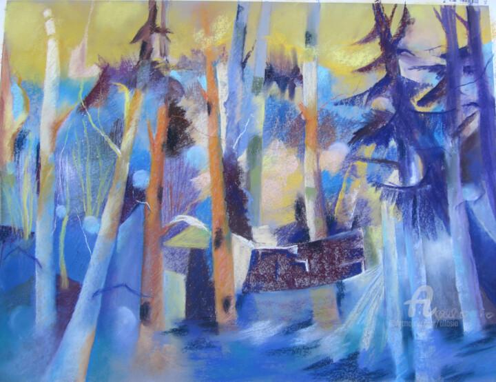 Claudette Allosio - Ombres et lumière en foret